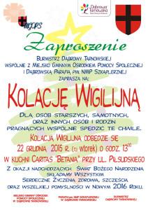 Zaproszenie-na-Kolację-Wigilijną-2015